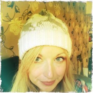 Debbie's reindeer hat!