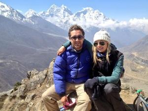Debbie and Jack in Everest