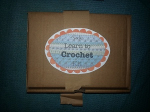 Sewfie's lovely Learn to Crochet kit